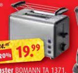Toaster TA 1371 von Bomann