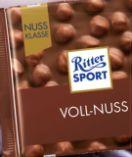 Nussklasse von Ritter Sport