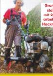 Benzin-Motorhacke MTP560 von Scheppach