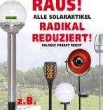 LED Solarleuchte Bruchglasoptik von TrendLine