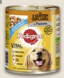 Hunde-Nassnahrung von Pedigree
