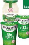 Zuckerreduzierte Bio-Joghurts von Andechser Natur
