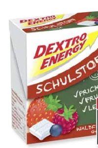 Schulstoff von Dextro Energy