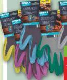 Gartenprofi Handschuhe von Edeka zuhause