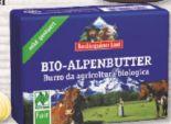 Bio-Alpenbutter von Berchtesgadener Land