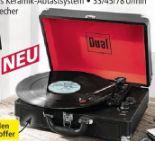 Bluetooth-Kofferplattenspieler DT1 von Dual