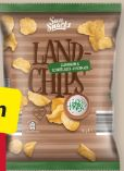 Land-Chips von Sun Snacks