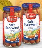 Saft-Bockwurst von Meica