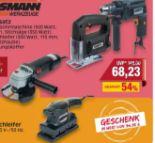 Elektrogeräte Satz von Brüder Mannesmann Werkzeuge