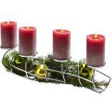 Weihnachts Kerzenhalter von Justinus