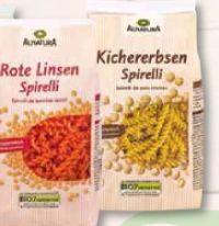 Bio Hülsenfrüchte-Pasta von Alnatura