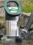 Schmutzwassertauchpumpe SP 15000 INOX von Mr. Gardener