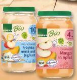 Bio Fruchtgläschen von Edeka Bio