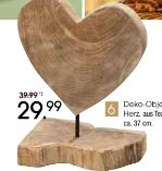 Deko-Objekt Herz
