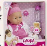 Plappernde Babypuppe Laura von Simba