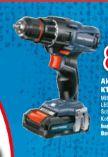 Akku-Bohrschrauber KT-AS 18 Li von Kraftronic