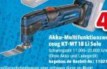 Akku-Multifunktionswerkzeug KT-MT 18 Li von Kraftronic