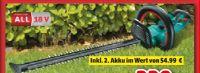 Akku-Heckenschere AHS55-20Li von Bosch