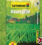 Rasenerde von Gartenkrone