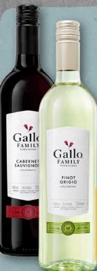 Pinot Grigio von Gallo Family Vineyards
