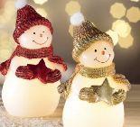 Weihnachts-LED-Kerze
