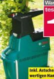 Elektro-Leisehäcksler AXT 25 TC von Bosch
