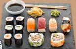 Sushi Menu von Globus