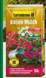 Rosenmulch von Gartenkrone