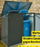 Mülltonnenunterstand