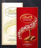 Lindor Schokolade von Lindt