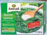 Bio-Rahmspinat von Alnatura