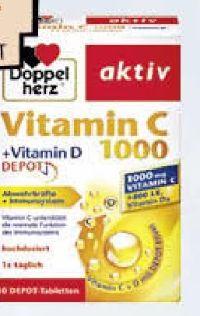 Doppelherz Aktiv Vitamin C 1000 + D Depot von Queisser Pharma