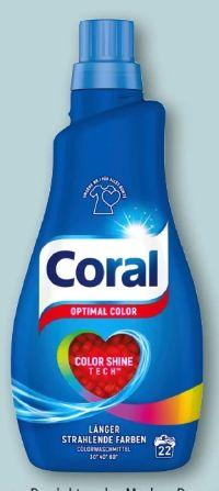 Feinwaschmittel Optimal Color von Coral