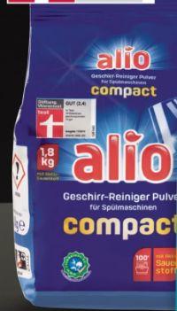 Geschirr-Reiniger Pulver von Alio
