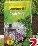 Graberde von Gartenkrone