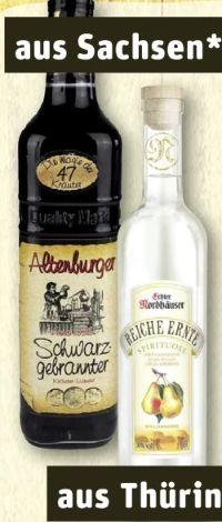 Schwarzgebrannter von Altenburger Destillerie & Liqueurfabrik