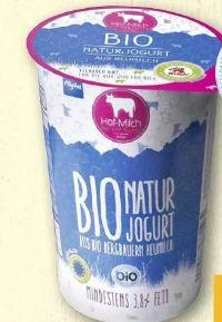 Allgäuer Bio Naturjoghurt von Hof-Milch