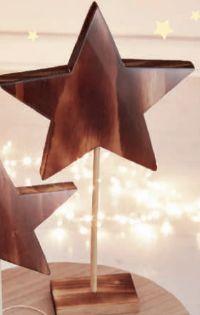 Aufsteller Stern von Rooms