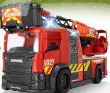 Scania Feuerwehrauto mit Drehleiter von Bruder