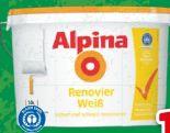 Renovierweiß von Alpina