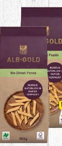 Bio-Dinkel-Teigwaren von Alb-Gold