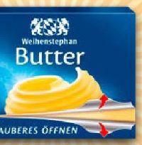 Butter von Weihenstephan
