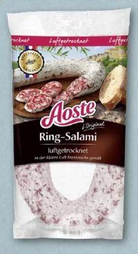 Ring-Salami von Aoste