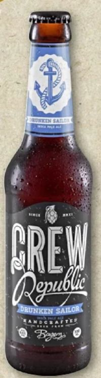 Drunken Sailor von Crew Republic Brewery
