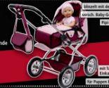 Kombi-Puppenwagen Grande von Bayer Puppen