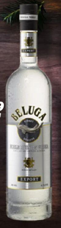 Vodka von Beluga Wodka