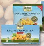 Bio-Tiefkühlkartoffelprodukte von Ökoland
