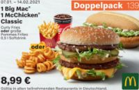 1 Big Mac+1 McChicken Classic 139 von McDonald's