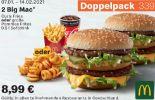 2 Big Mac 339 von McDonald's