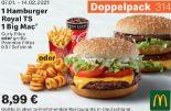 1 Hamburger Royal TS + 1 Big Mac 314 von McDonald's